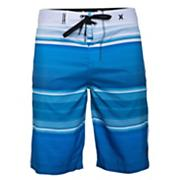 Men's Sunset Boardshort - Fluorescent Blue