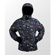Girls' Tzuega Jacket - Black Patterned