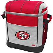 49ers 50-Can Wheeled Soft Cooler