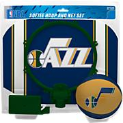 Utah Jazz Slam Dunk Softee Hoop & Net Set