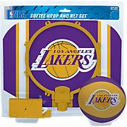 Los Angeles Lakers Slam Dunk Softee Hoop & Net Set
