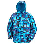 Men's Git Down™ Puffy Jacket - Blue Patterned