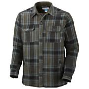 Men's Noble Falls Omni-Heat Shirt Jacket - Black Patterned