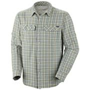 Men's Silver Ridge Plaid Long Sleeve Shirt - Green