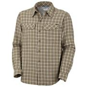 Men's Silver Ridge Plaid Long Sleeve Shirt - Tan
