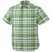 Men's Hyperglide Short Sleeve - Green Patterned