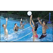 Cool Jam Across the Pool Volleyball and Badminton