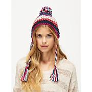 Women's Northern Lights Earflap Hat