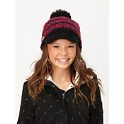 Girls' Falling Star Visor Beanie