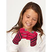 Girls' Smiley Face Texting Gloves