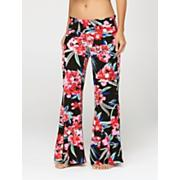 Women's Rebound Print Beach Pant - Black Patterned