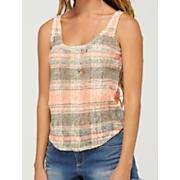Women's Shine Your Light Tank - Coral