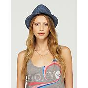 Women's Heat Wave Straw Fedora