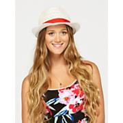 Women's Summer Spell Crochet Fedora