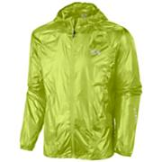 Men's Ghost Whisperer Hooded Jacket-Run - Light Green / Lime