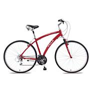 Women's Crosstown 1.0 Hybrid Bike - Red