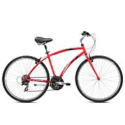 Crosstown 2.1 Hybrid Bike - Red