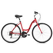 Women's Crosstown 2.1 Hybrid Bike - Red