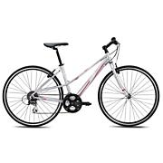 Women's Monterey 24 Performance Hybrid Bike - Silver