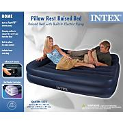Queen Pillow Rest Raised Airbed
