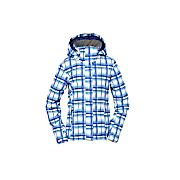 Women's Willow Jacket - Blue Patterned