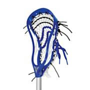 Evolution 3X Lacrosse Head (Strung) - Royal Blue