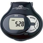 350 TRAINER PEDOMETER,BLACK