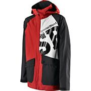 Men's Beacon Jacket - Red Patterned