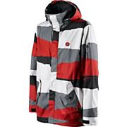 Men's Circa Jacket - Red Patterned