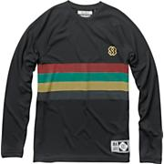 Men's New Jersey Long Sleeve Top - Black