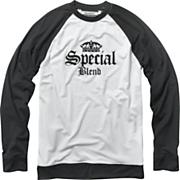 Men's Dirty Jersey Long Sleeve Top - White