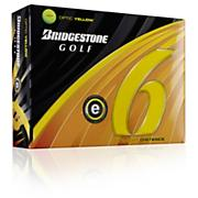 e6 2011 Yellow Golf Balls (Dozen)