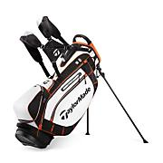Pure Lite Stand Bag White/Black/Orange