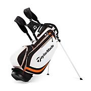Stratus Stand Bag White/Black/Orange