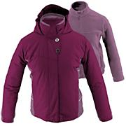 Girls' Snow Flake 3 in 1 Jacket - Purple