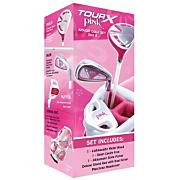 Tour X Pink Junior Golf Set - Ages 3-5