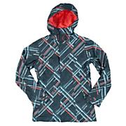 Women's Resilient Insulated Jacket - Gray Patterned