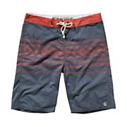 Men's Inka Boardshort - Blue Patterned