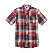 Men's Larchmont S/S Woven - Red Patterned