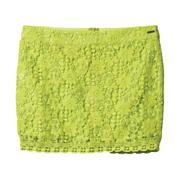 Women's Jamaica Skirt - Fluorescent Green