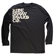 Men's Board Co L/S Tee - Black
