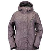 Women's Magnolia Jacket - Purple Patterned