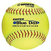Super Dot .47 cor Slowpitch Softball - Yellow