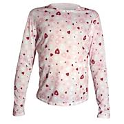 Girls Pepper Skins Print Crewneck - Pink