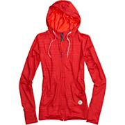 Women's Player Hooded Full Zip - Pink