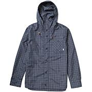 Men's Wind Shirt - Blue Patterned