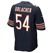 Men's Bears Urlacher Game Jersey - Navy / Dark Blue
