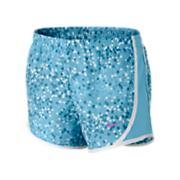 Girls' Graphic Tempo Short - Blue Patterned