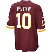 Men's Redskins Griffin III Game Jersey - Red