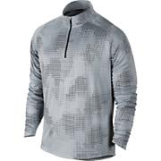 Nike Element Jacq 1/2 Zip Shirt - Gray